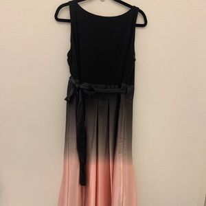 SLNY Pink Ombre Formal Dress